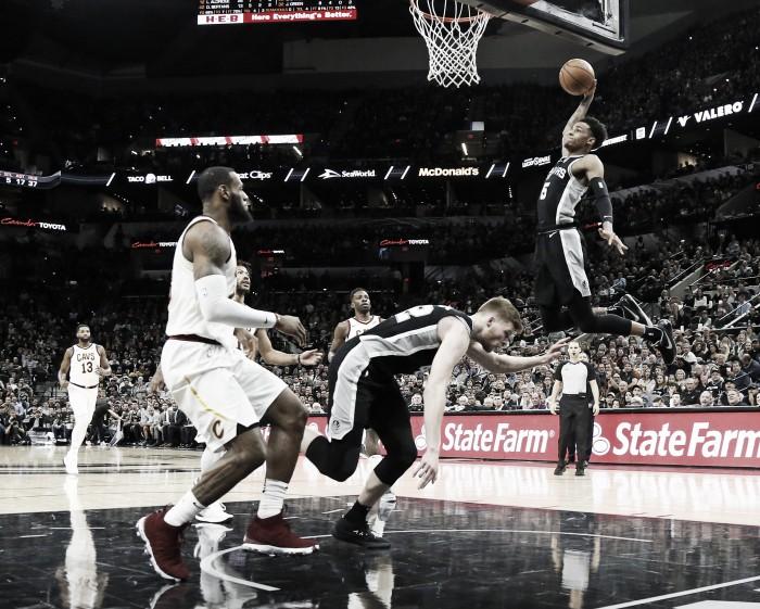 Victoria de Spurs en un día inolvidable para LeBron