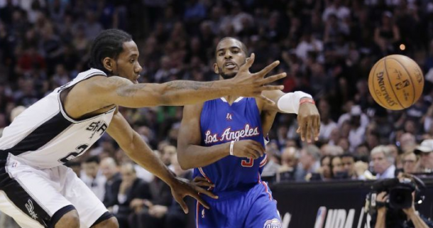 San Antonio Spurs - Los Angeles Clippers in 2015 NBA Playoffs (111-107)