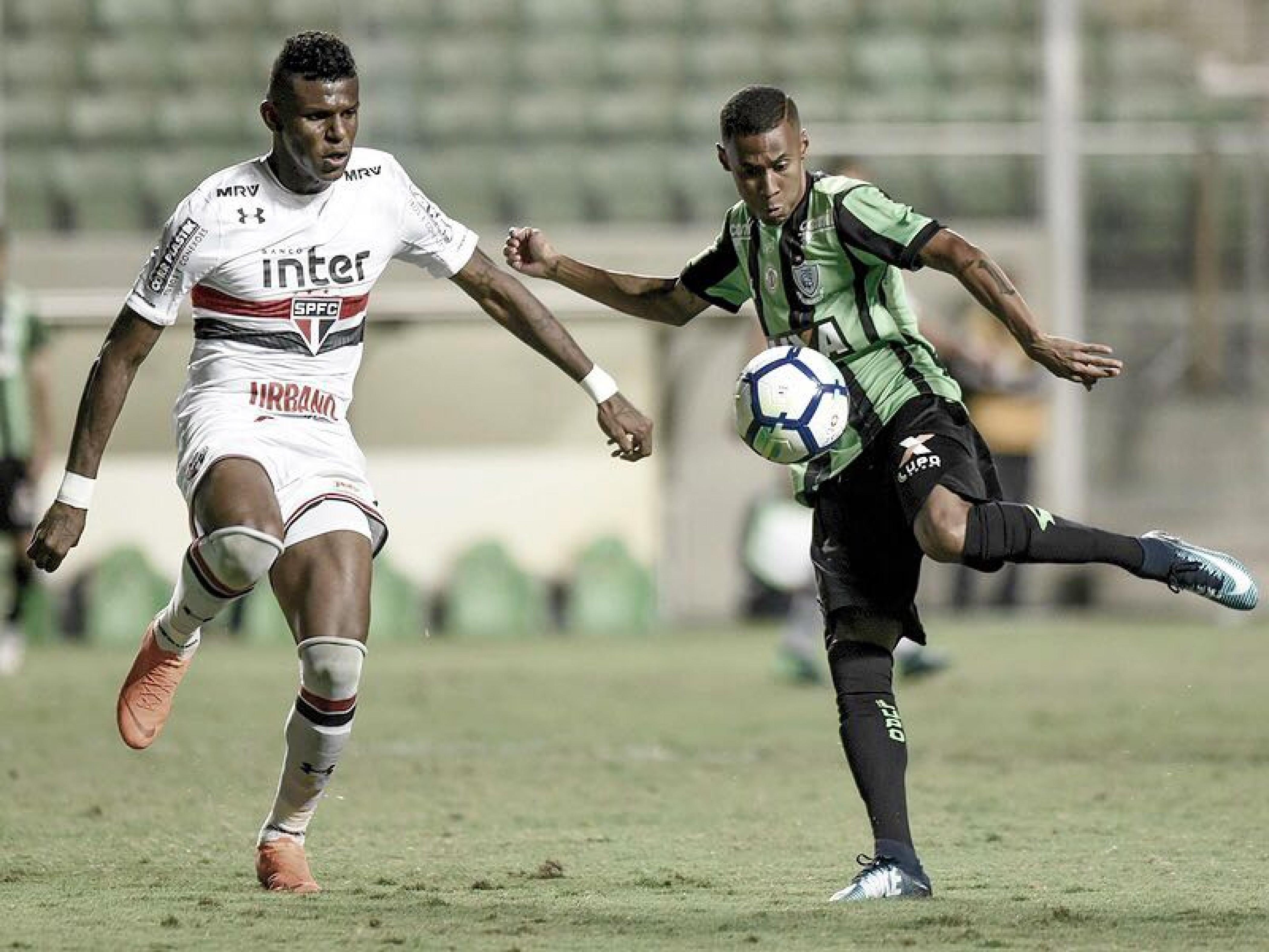 Resultado e gols São Paulo 1-1 América-MG pelo Campeonato Brasileiro 2018