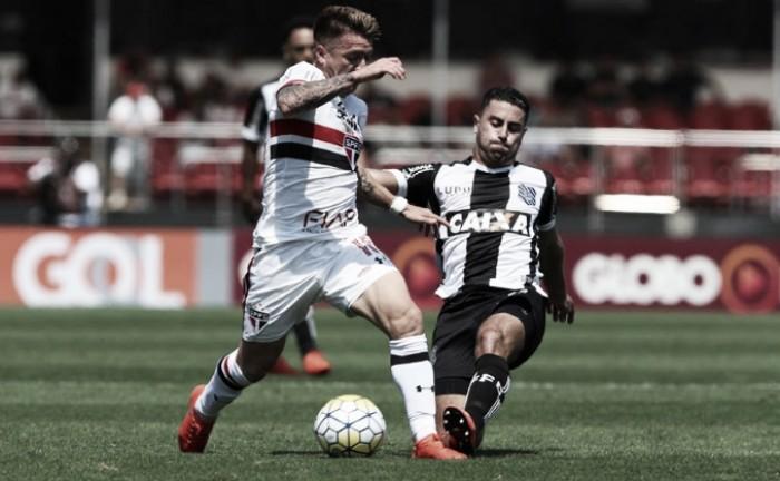 Eficiente no ataque, São Paulo bate Figueirense e volta a vencer após cinco partidas no Morumbi