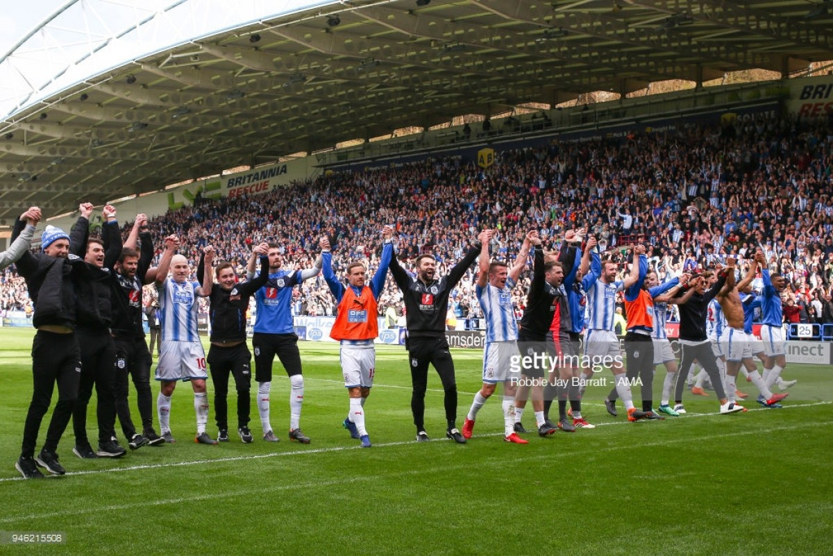 Huddersfield Town release retained squad list following 2017/18 season
