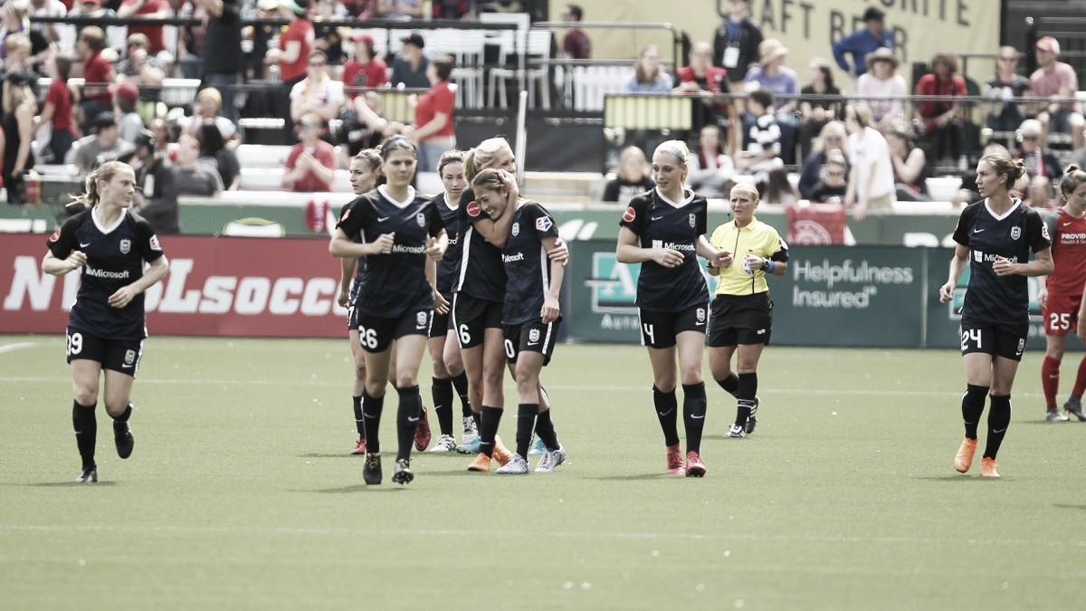 Seattle Reign FC draw first blood in Cascadia derby