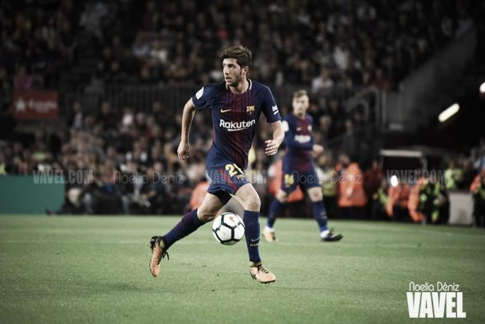 Sergi Roberto, novedad en la convocatoria frente al Real Murcia