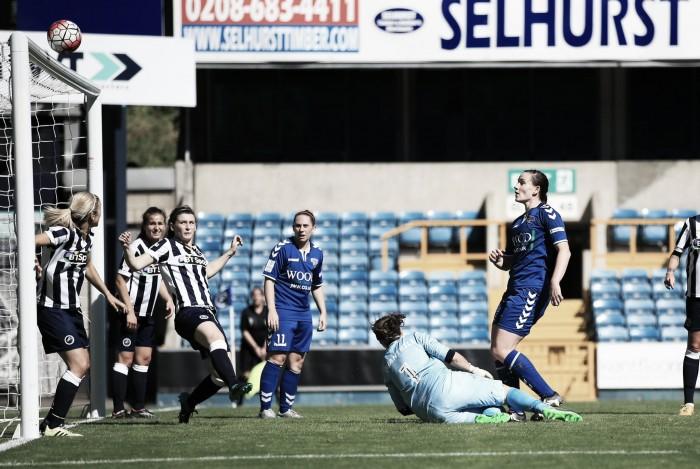 Millwall 0-1 Durham: Sarah McFadden reaction