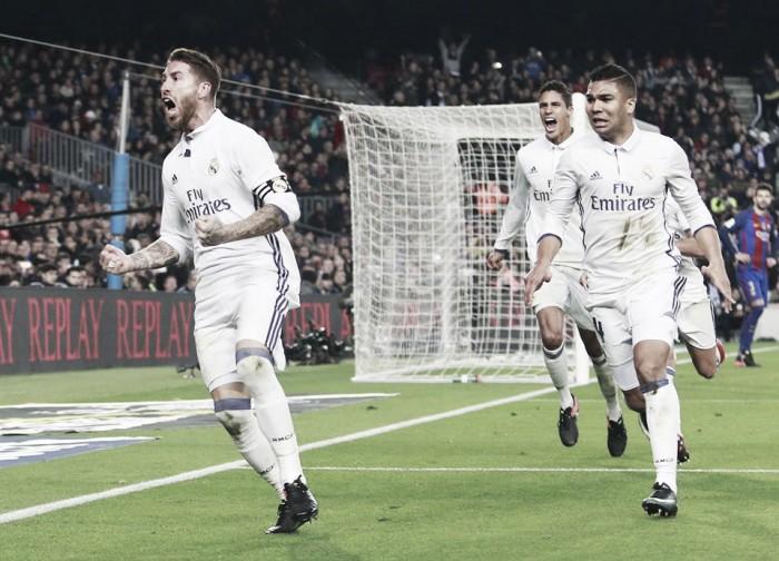 Voti Clasico, Barcellona-Real Madrid 1-1: gol di Ramos al fotofinish