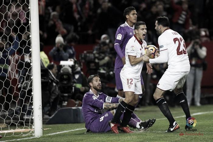 Liga, il Real Madrid cade a Siviglia nel modo più beffardo (2-1)