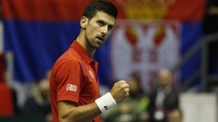 Davis Cup: Novak Djokovic Delivers Opening Win For Serbia