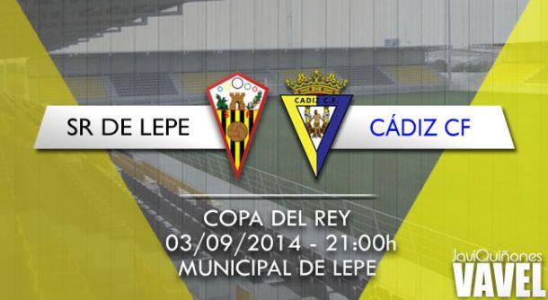 San Roque de Lepe-Cádiz CF : el retorno a la Copa del Rey