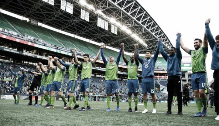 Score Seattle Sounders FC 0-0 Atlanta United FC