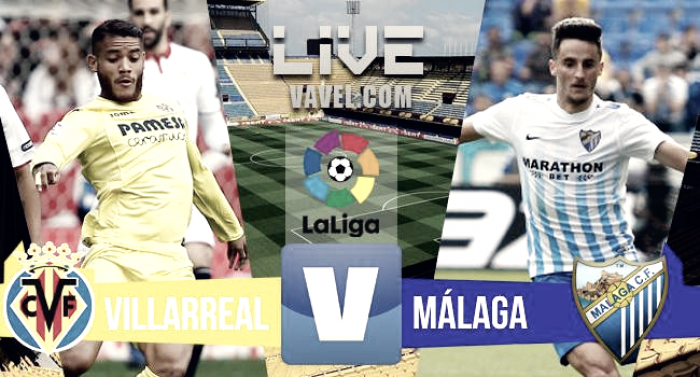 Resumen Villarreal 1-1 Málaga en La Liga 2017