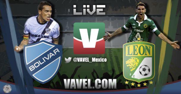 Resultado Bolívar vs León en Copa Libertadores (1-1)