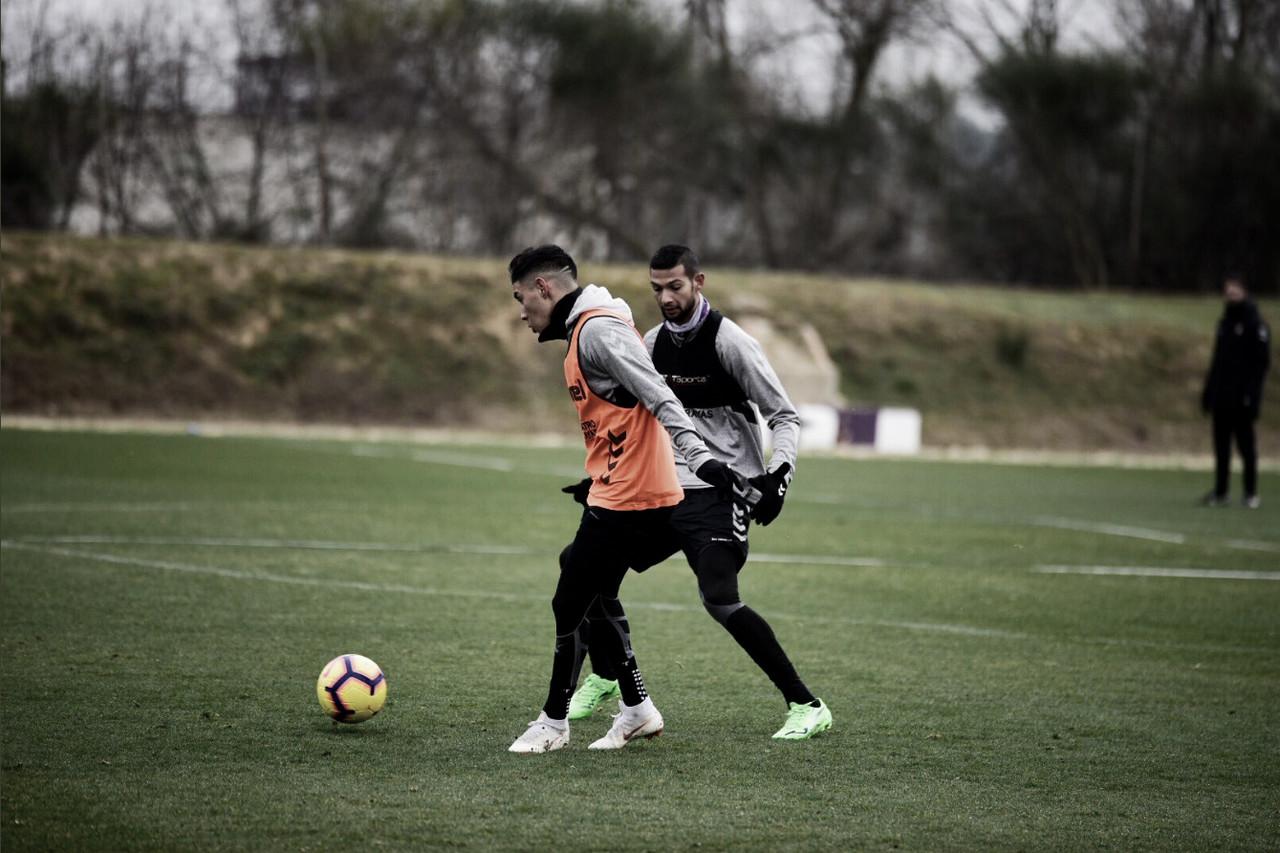 Primer entrenamiento del 2019 para el Valladolid
