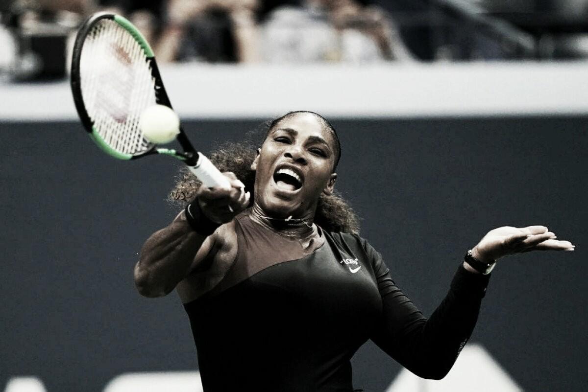 Serena Williams en semifinales de US Open