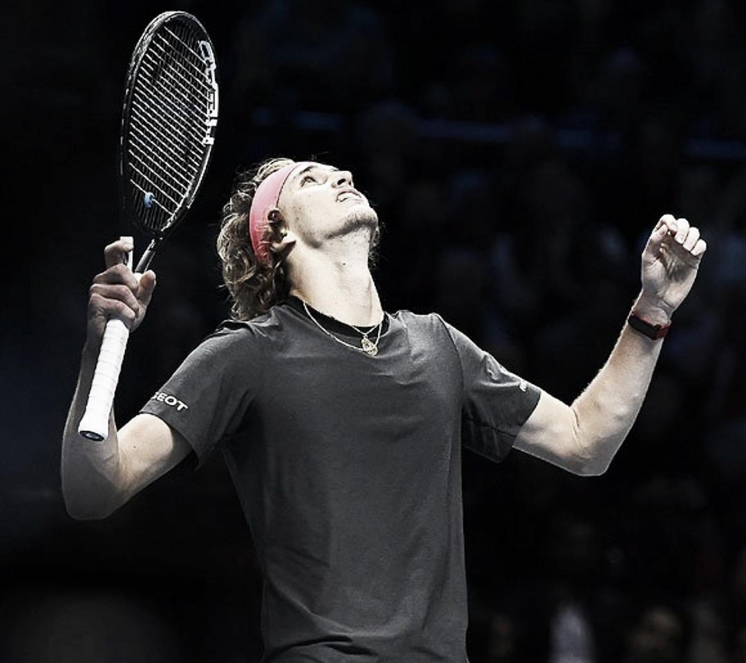 Alexander Zverev venció al número uno del mundo, Novak Djokovic y es el nuevo Maestro del tenis