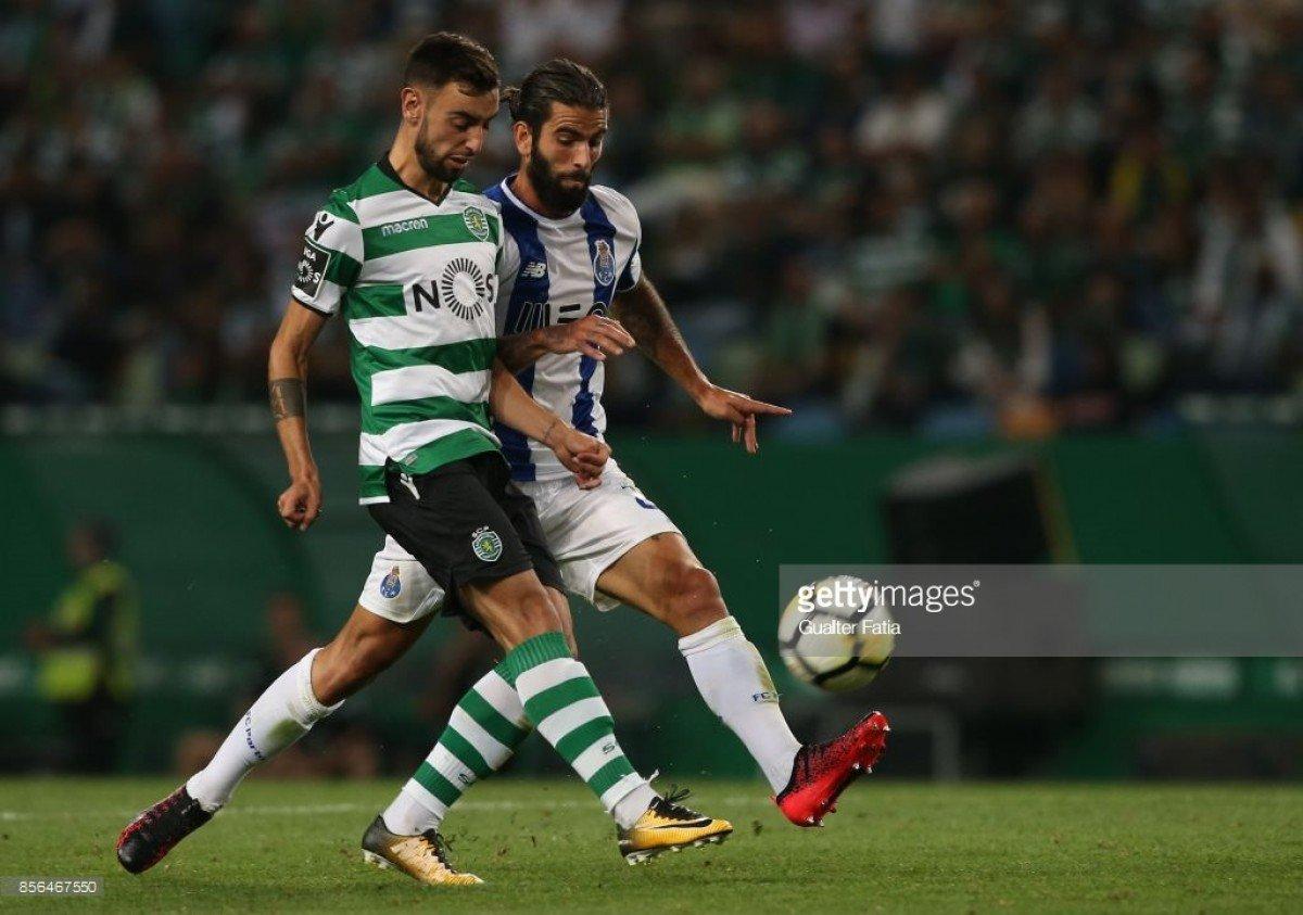 Olhos postos no meio campo: Sérgio Oliveira x Bruno Fernandes