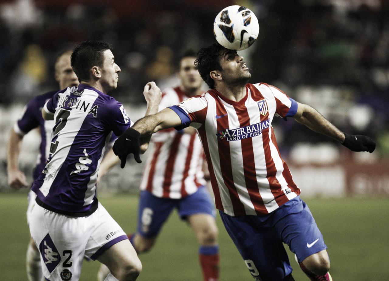 Enfrentamientos directos entre Real Valladolid y Atlético de Madrid