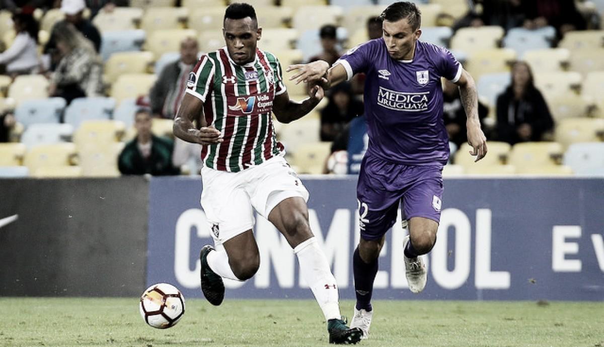 """Digão celebra gol em partida de número 100 pelo Fluminense: """"Momento especial"""""""