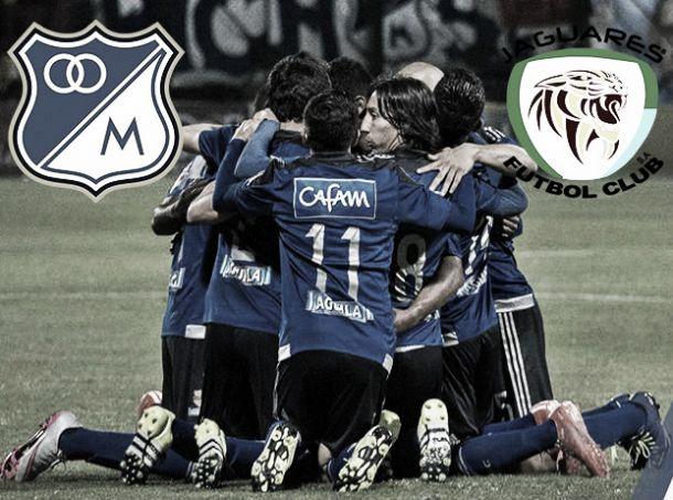 Millonarios Vs Jaguares: los 'embajadores' se juegan su clasificación