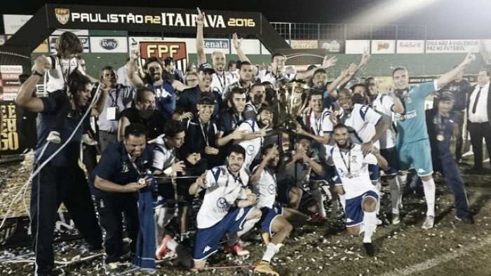 Santo André vence Mirassol, conquista título da Série A-2 e se garante na próxima Copa do Brasil