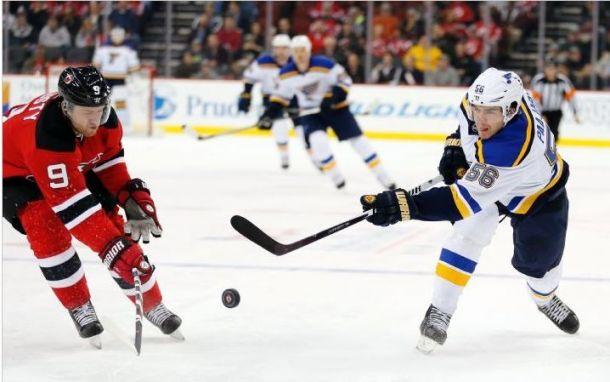 New Jersey Devils Sent Singing The Blues; Shutout 2-0
