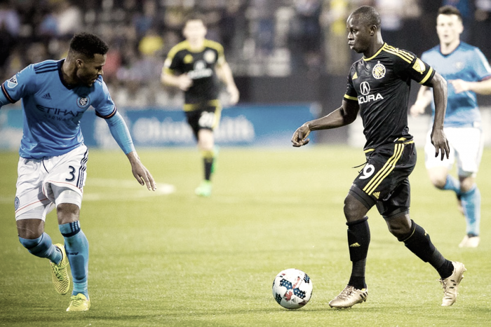 New York City FC hosts Columbus Crew SC for final regular season game