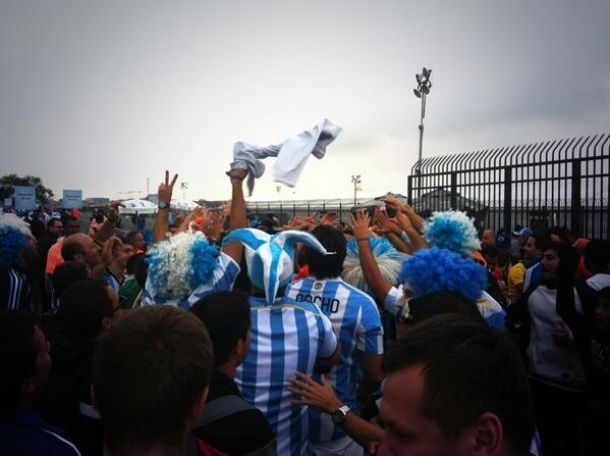 Argentina - Olanda, l'arrivo dei tifosi allo stadio