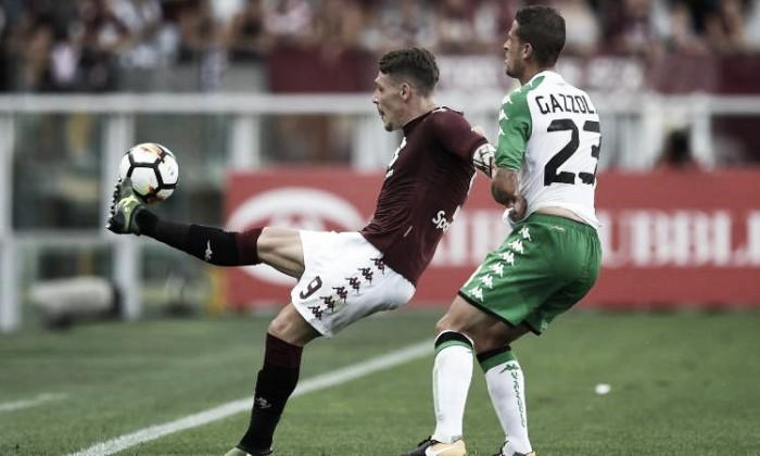 Il Gallo torna a cantare. Torino Sassuolo finisce 3-0