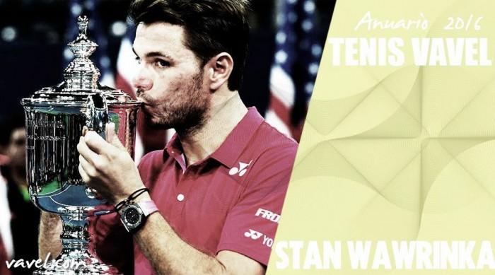 Anuario VAVEL 2016. Stan Wawrinka: regularidad como forma de vidad