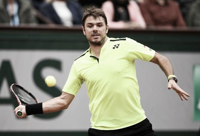 Wawrinka vence e avança para as quartas de final em Roland Garros