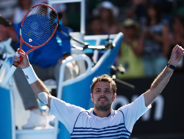 Australian Open: Round Three - Djokovic vs Wawrinka