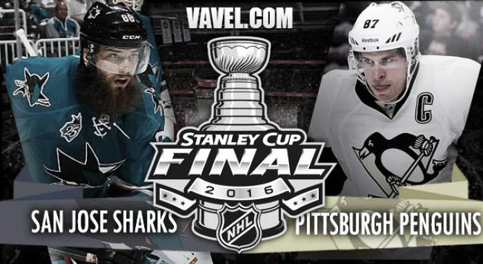San Jose Sharks – Pittsburgh Penguins: todo listo para la gran final