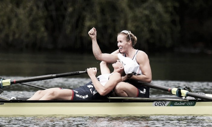 Rio 2016: Glover and Stanning repeat as Olympic champions in the Women's Pair