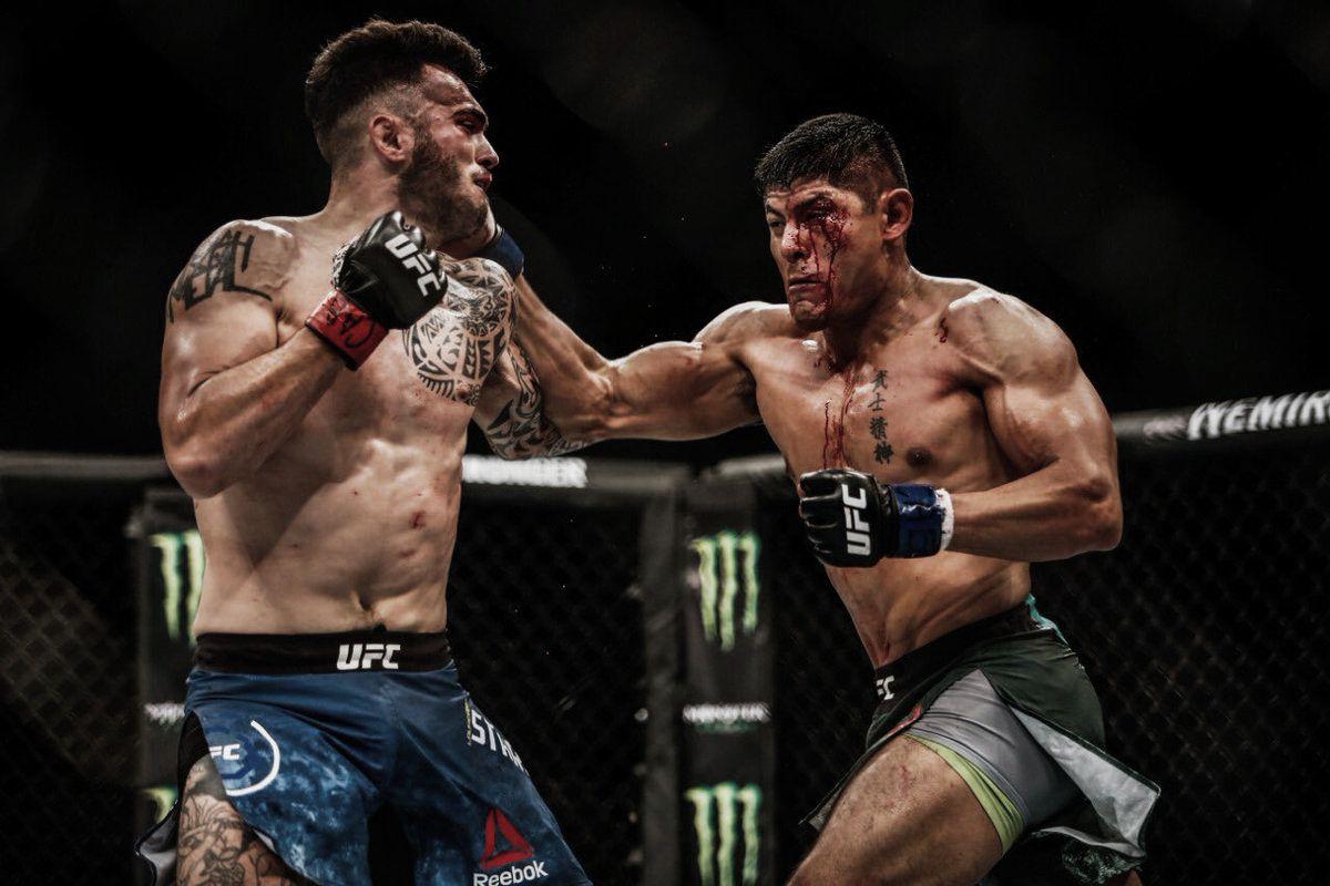 UFC Argentina: un debut soñado y Calvillo somete