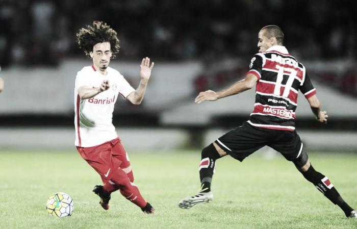 Resultado Internacional x Santa Cruz pelo Campeonato Brasileiro 2016 (1-1)