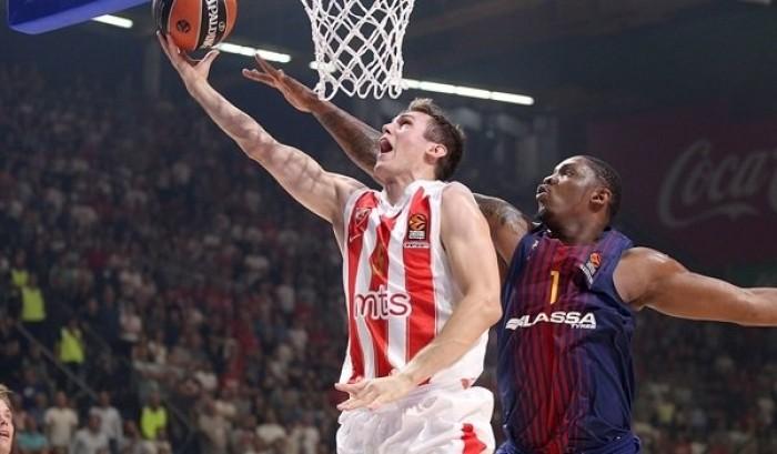 Turkish Airlines EuroLeague - Stella Rossa di carattere, al Barcellona non basta la rimonta