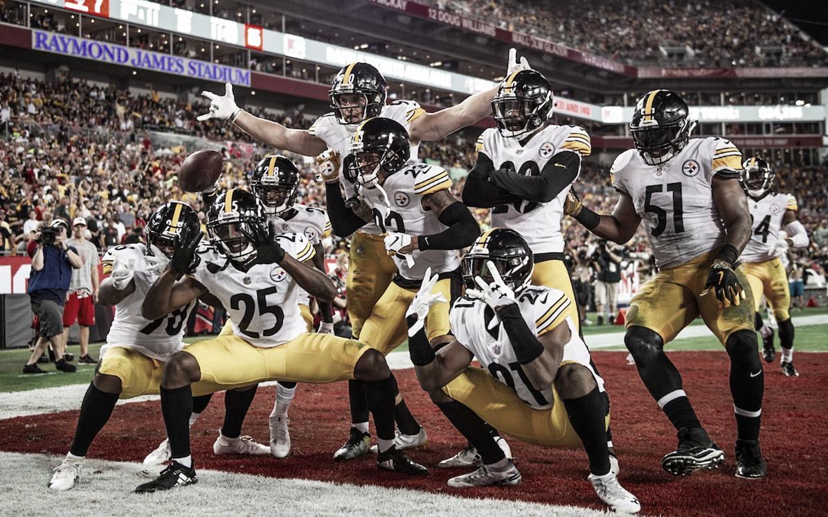Los Steelers consiguen su primera victoria en Tampa Bay