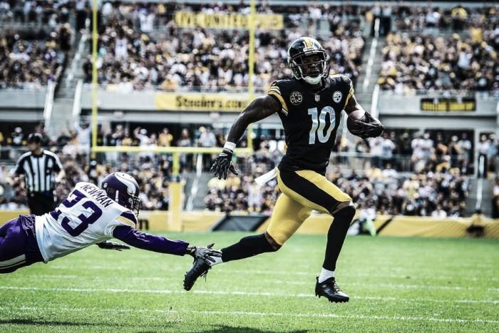 Sin sobresaltos, los Steelers se impusieron ante los Vikings