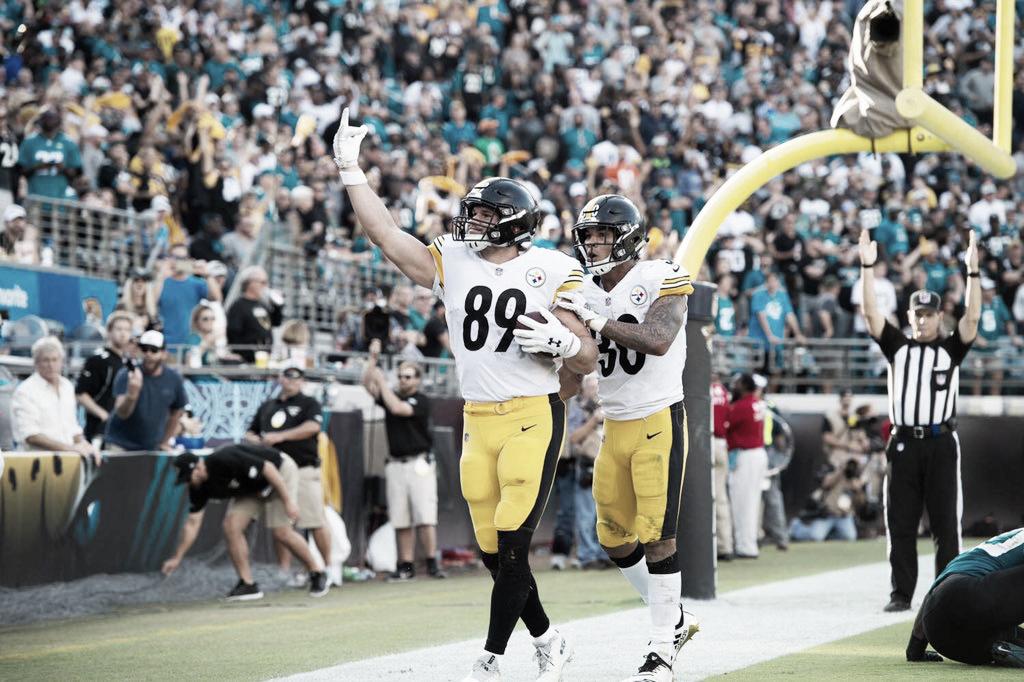 Épica remontada de los Steelers en Jacksonville