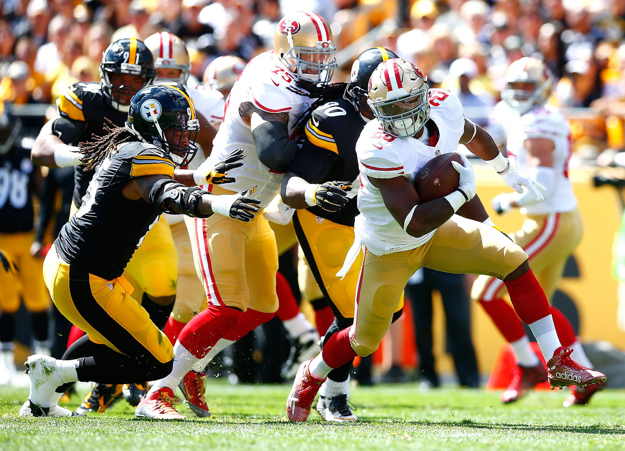 Pittsburgh Steelers vs San Francisco 49ers en vivo cómo ver transmisión TV online en NFL 2019 (0-0)