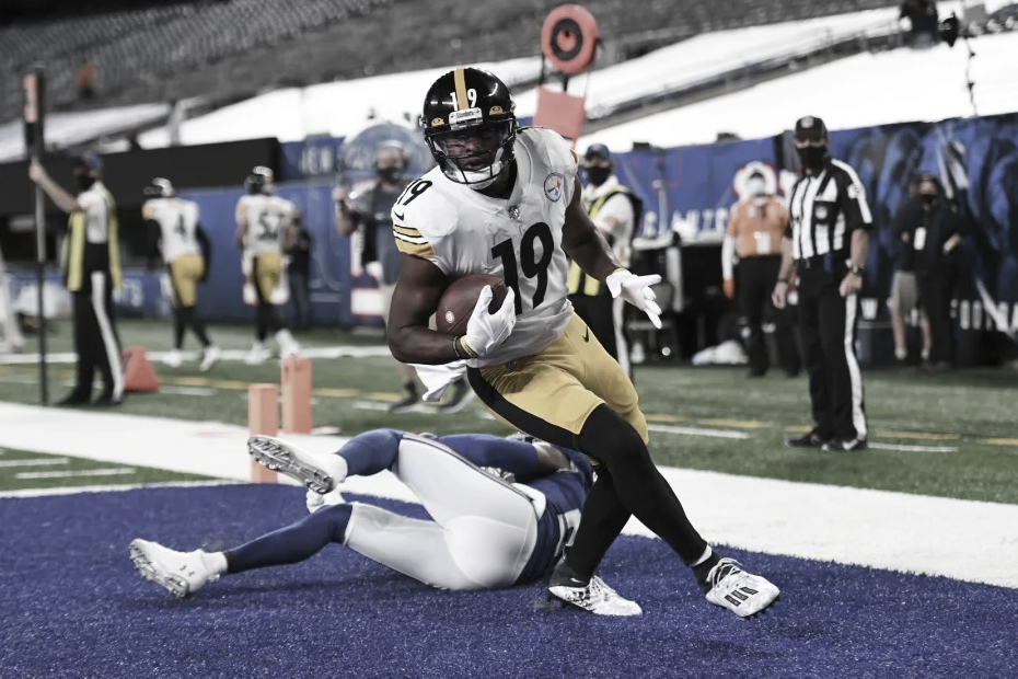 Pittsburgh domina y vence a los Giants