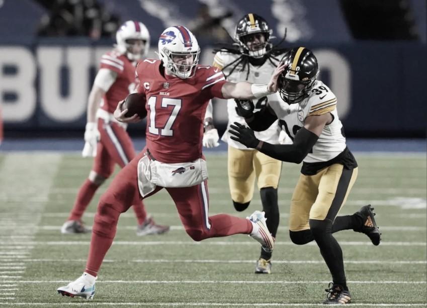 Bills aproveitam jogo apagado dos Steelers e vencem em casa