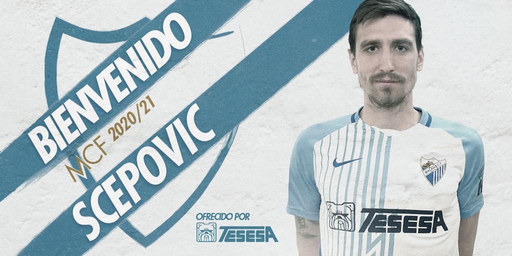 Scepovic se quedará hasta el final de esta temporada