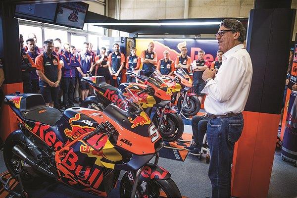 KTM renueva cinco años más en MotoGP y vuelven las Husqvarna