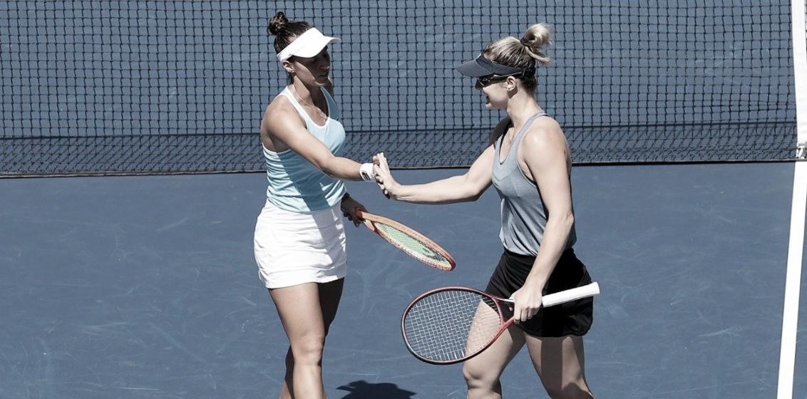 Com grande terceiro set, Dabrowski/Stefani batem Bouzkova/Hradecka e vão às semis do US Open