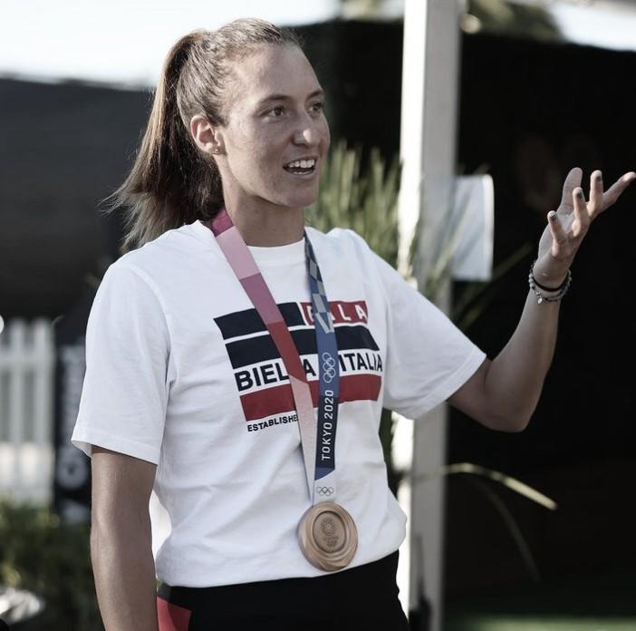 Ao lado de Dabrowski, Luisa Stefani vence em San Jose no primeiro jogo após bronze em Tóquio