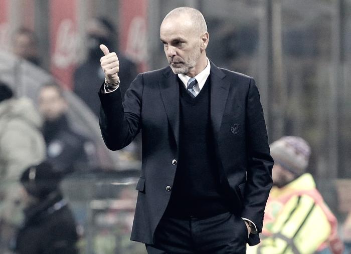 """Inter, Pioli: """"Non è il momento di guardarci indietro. Futuro? Ne parleremo a fine campionato..."""""""