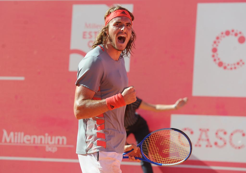ATP Estoril: Stefanos Tsitsipas outlasts David Goffin to reach the final