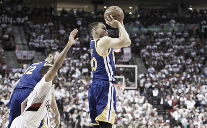 Nba playoffs, Curry rientra e decide l'overtime a Portland (125-132)