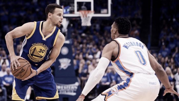 Nba playoffs, Curry e Thompson sbancano Oklahoma City e trascinano i Warriors a gara 7