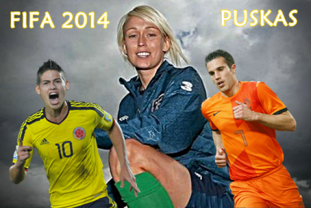 FIFA: Prémio Puskas disputado por James, Van Persie e Roche